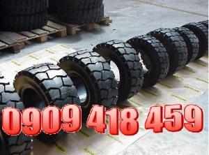 Nhập khẩu vỏ xe nâng 18x7-8, lốp xe nâng đặc 18x7-8, lốp xe nâng hơi 18x7-8