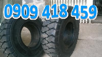 Vỏ xe nâng đặc 21×8-9, vỏ xe nâng hơi 21×8-9 giá rẻ tại Tp.HCM